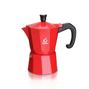 Miss Moka Prestige Color Rosso Brillante