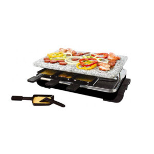 Piastra Raclette 8 persone